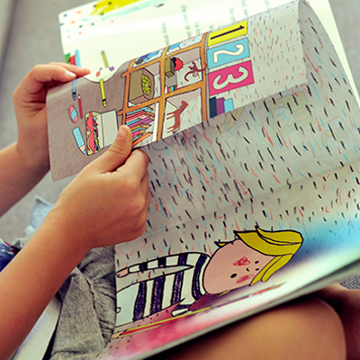 Childrens Book Illustration: Zuzu's Forest
